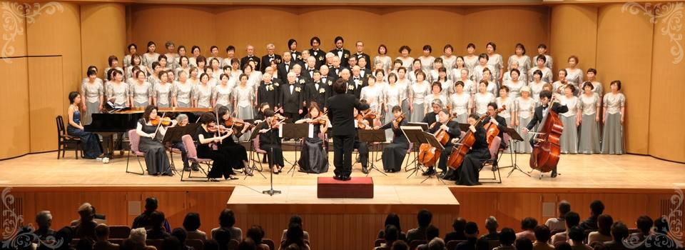 2013年2月  旭区民合唱団リリオ定期演奏会  旭区民センター大ホールにて